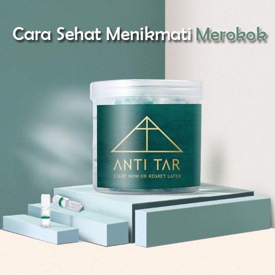ANTITAR Indonesia – Filter Tar Rokok Premium Universal