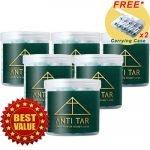 ANTI TAR AT300 Filter Tar Rokok Universal Asli - AT300 6 Box